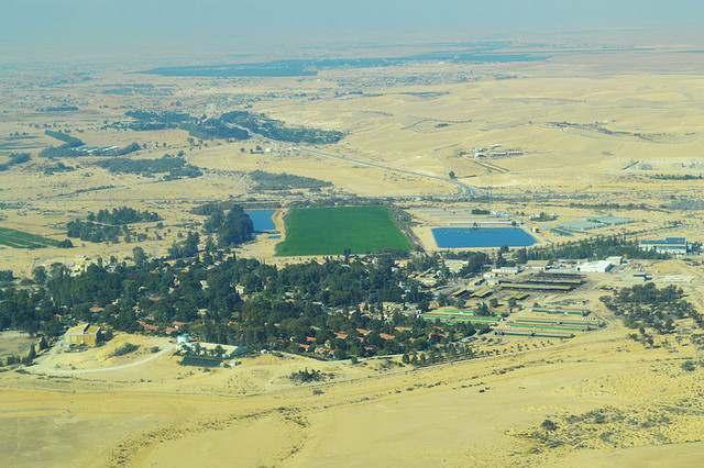 Kỳ tích Israel trồng rừng trên sa mạc